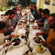 Das grosse Brassard-Abschlussessen 2017