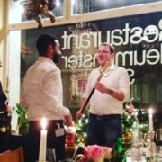 SEZ Markus Meyer bei der feierlichen Ansprache zur Siegerehrung Brassard 2017